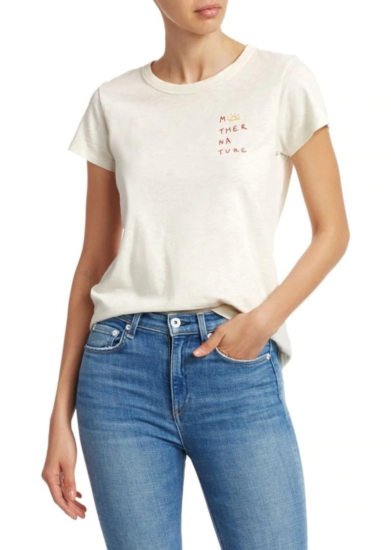 rag & bone Mother Nature Crewneck Tee