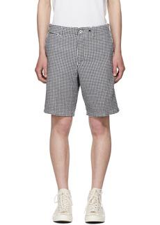 Rag & Bone Navi Gingham Base Shorts