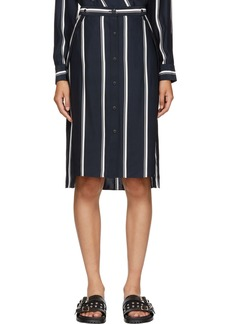 Rag & Bone Navy Debbie Skirt