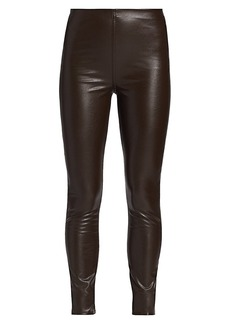 rag & bone Nina Faux Leather Pull-On Skinny Pants