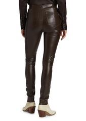 rag & bone Nina Faux Leather Pull-On Skinny Pants