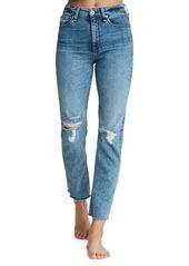 rag & bone Nina High-Rise Ankle Cigarette Jeans