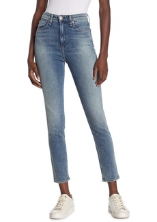 rag & bone Nina High Rise Ankle Crop Skinny Jeans