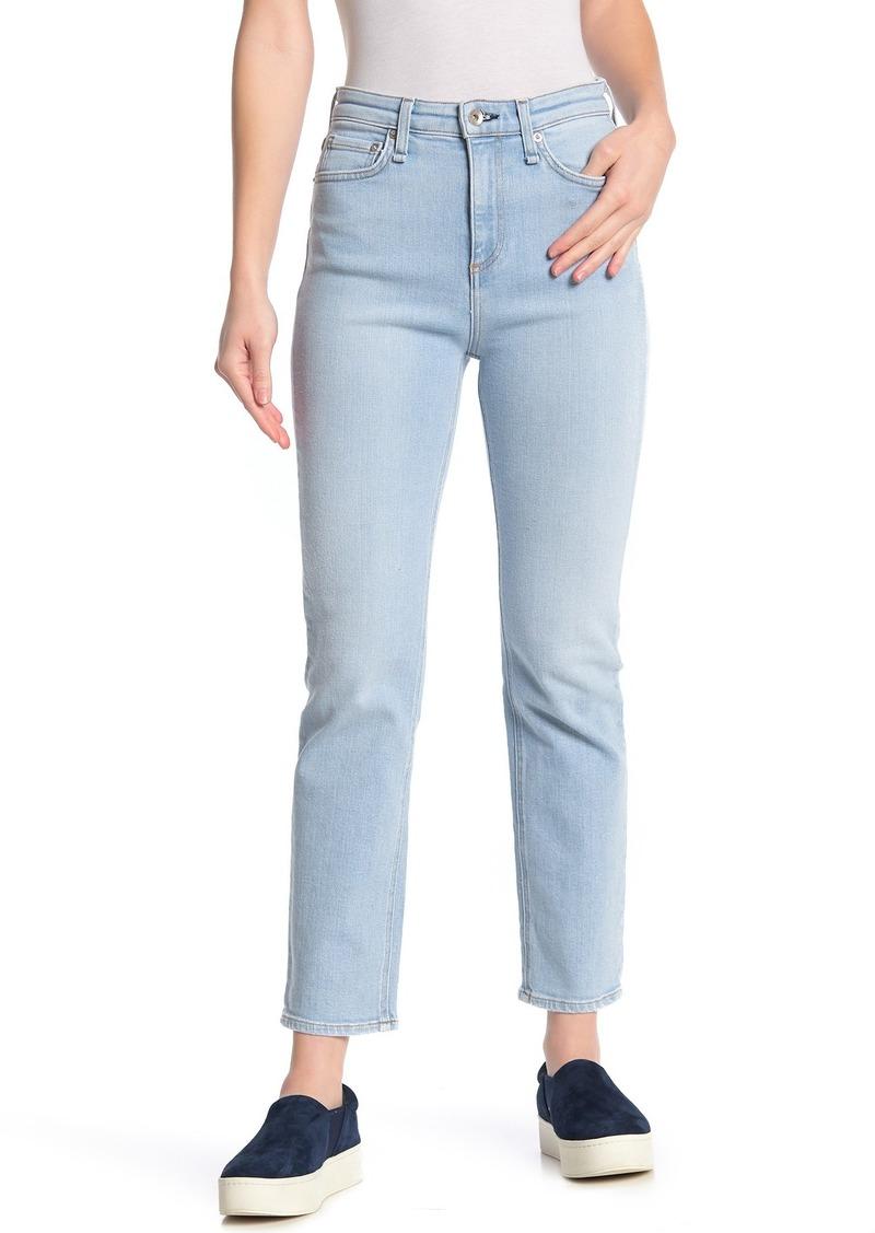 rag & bone Nina High Rise Ankle Jeans