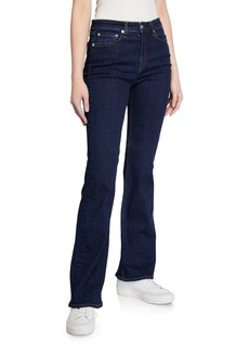 rag & bone Nina High-Rise Boot-Cut Denim Jeans