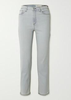 rag & bone Nina High-rise Straight-leg Jeans