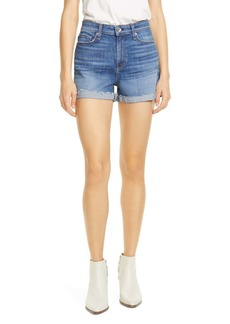 rag & bone Nina High Waist Denim Cutoff Shorts (Balboa)