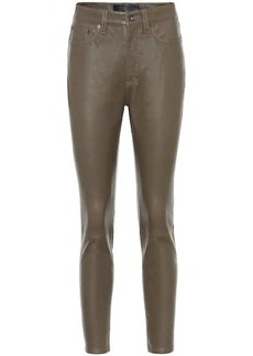 rag & bone Nina mid-rise leather pants