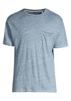 rag & bone Owen Linen Pocket Tee