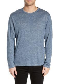 rag & bone Owen Slim Fit Long Sleeve Linen T-Shirt