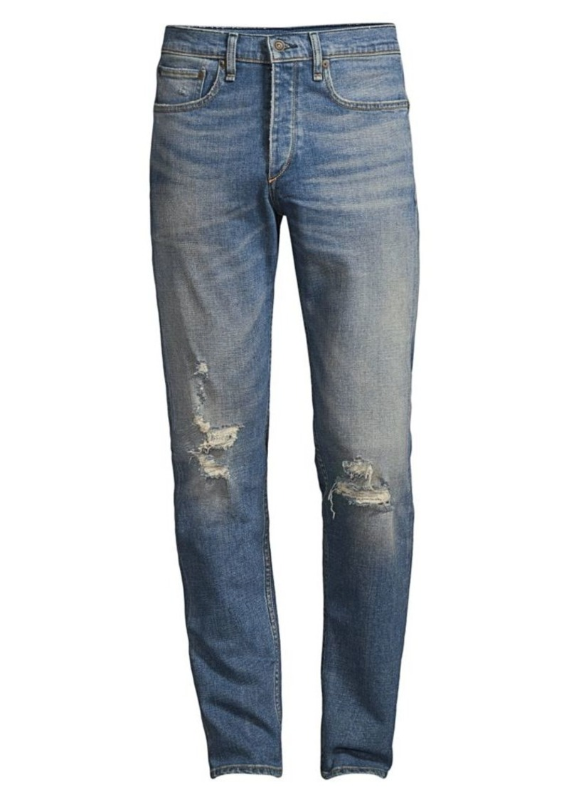 rag & bone Palisade Distressed Jeans
