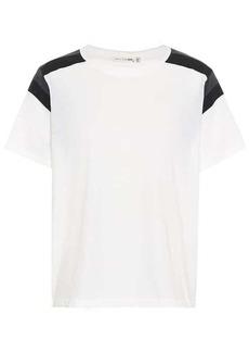 rag & bone Panel cotton T-shirt