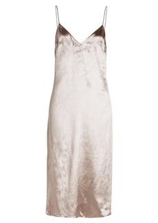 Rag & Bone Parker Velvet Dress with Silk