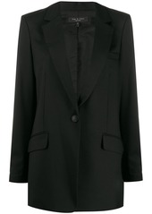 rag & bone peaked lapel blazer