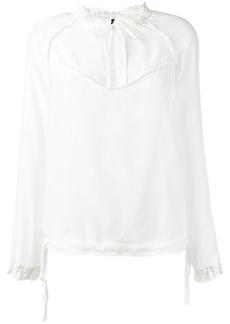 Rag & Bone peep-hole blouse