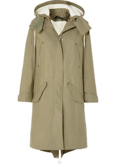 Rag & Bone Penelope Oversized Cotton-canvas Parka