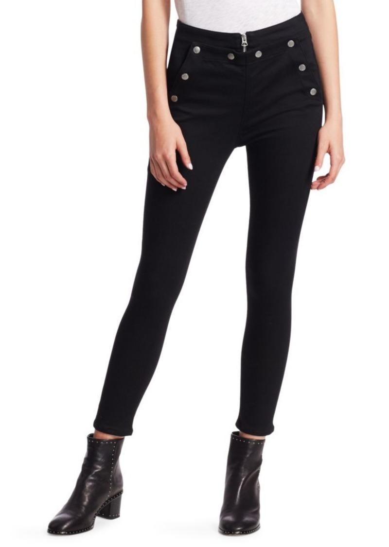 rag & bone Penton High-Rise Button Skinny Jeans