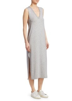 Rag & Bone Phoenix V-Neck Midi Tank Dress