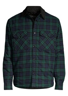 rag & bone Plaid Padded Jack Shirt
