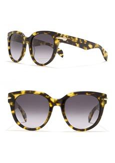rag & bone Polarized 54mm Round Sunglasses