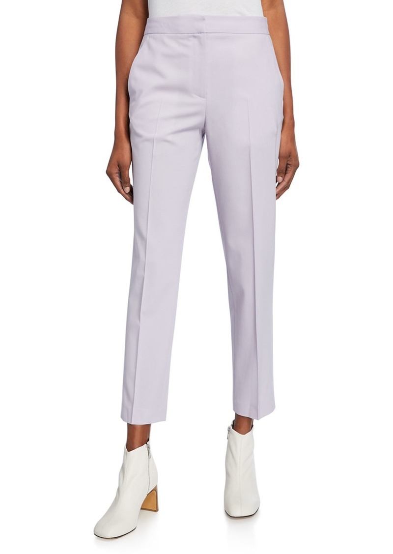 rag & bone Poppy Straight-Leg Wool Pants