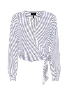 rag & bone Prescot cotton and linen blouse