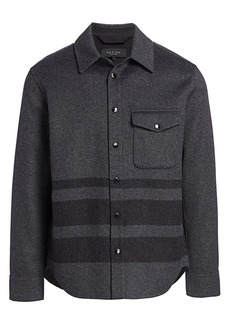 rag & bone Principle Wool-Blend Shirt Jacket