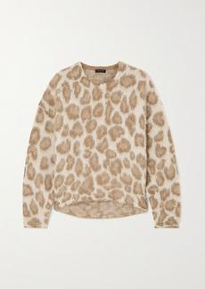 rag & bone Printed Alpaca-blend Sweater