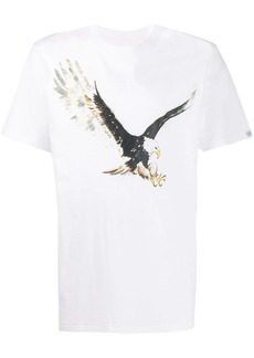 rag & bone printed eagle T-shirt