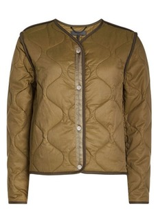 Rag & Bone Quilted Jacket with Cotton