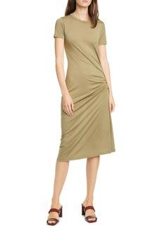 rag & bone rag & boe Ina Ruched Midi T-Shirt Dress