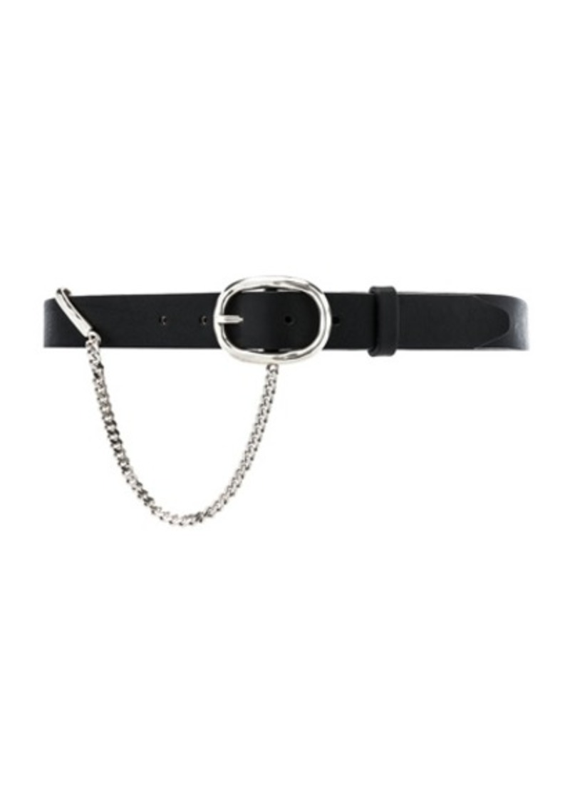 Rag & Bone 30MM Boyfriend Belt With Chain