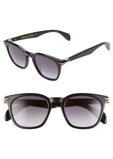 rag & bone 50mm Sunglasses