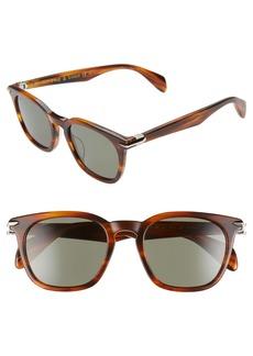 rag & bone 50mm Polarized Sunglasses