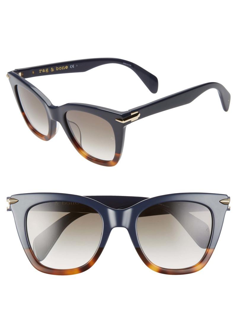 rag & bone 52mm Sunglasses