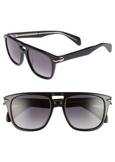 rag & bone 53mm Gradient Sunglasses