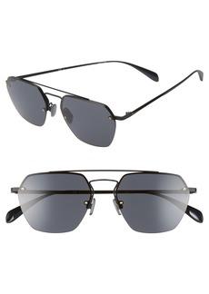rag & bone 54mm Aviator Sunglasses