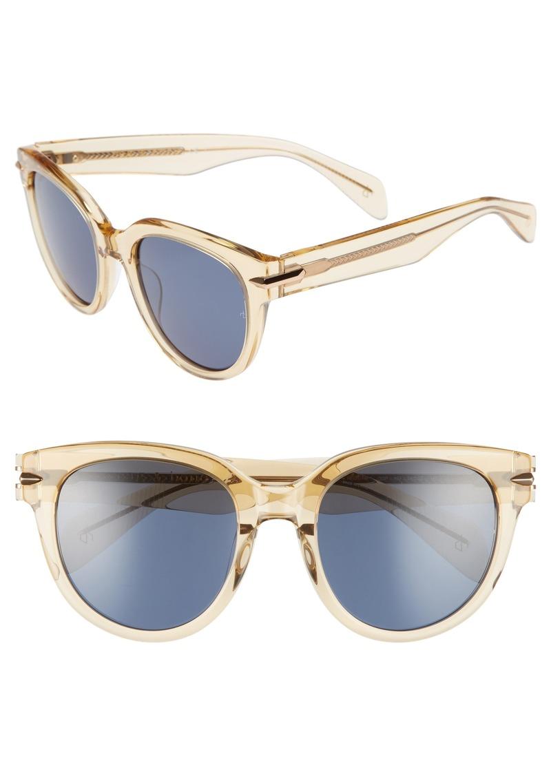 rag & bone 54mm Cat Eye Sunglasses