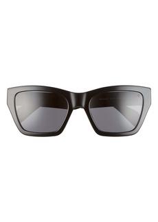 rag & bone 54mm Gradient Rectangle Sunglasses