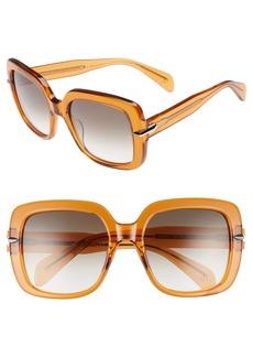 rag & bone 56mm Gradient Square Sunglasses