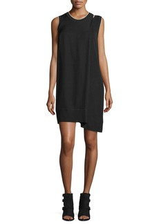 Rag & Bone Abby Sleeveless Crepe Mini Dress