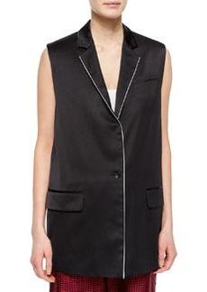 Rag & Bone Donnie Long Button-Front Vest