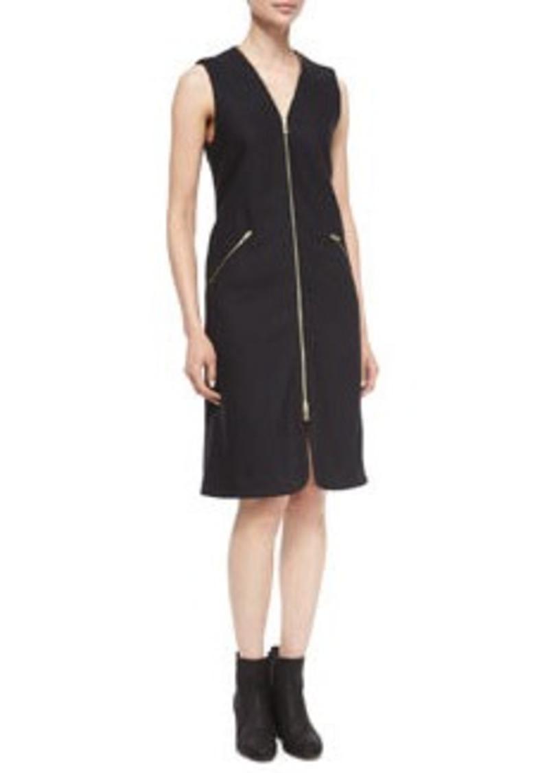 Rag & Bone Lees Sleeveless Zip-Front Dress