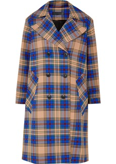 Rag & Bone Ace Oversized Plaid Woven Trench Coat
