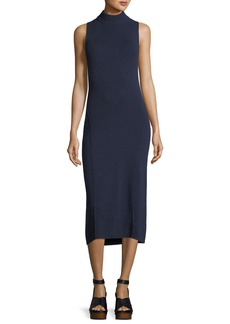 Rag & Bone Ace Sleeveless Cashmere Turtleneck Midi Dress