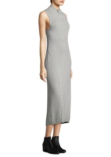 Rag & Bone Ace Slim-Fit Cashmere Midi Dress