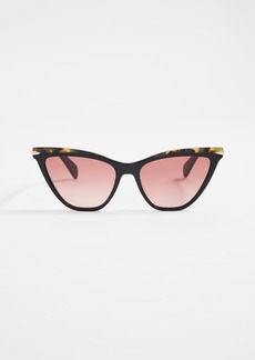Rag & Bone Acetate Cat Eye Sunglasses