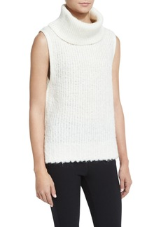 Rag & Bone Adele Sleeveless Ribbed Turtleneck Sweater