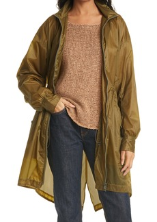 rag & bone Adison Hooded Raincoat