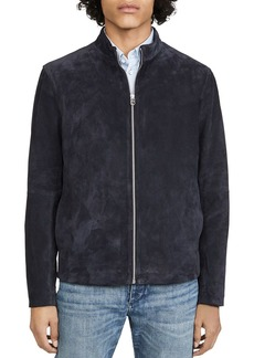 rag & bone Agnes Suede Slim Fit Jacket